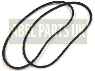FAN BELT PAIR L-1215 MM, FOR VARIOUS JCB MODELS (PART NO. 02/801603)